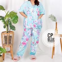 baju tidur jumbo bumil busui / baju tidur BIGSIZE katun adem set CP HP