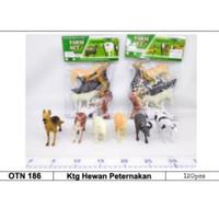 PROMO MAINAN ANAK KANTONG HEWAN PETERNAKAN ANIMAL WORLD BRO 1175