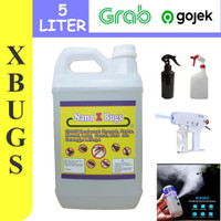 NanoXBugs 5Ltr Cairan Nanospray / Spray Khusus Serangga. Nyamuk,Rayap
