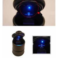Asbak Tempat Rokok di Mobil Nyala Lampu LED Hitam aksesoris interior
