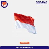 17 Agustus Bendera Indonesia Bahan Satin Premium Grosir Free Ongkir