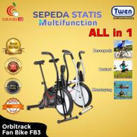 Sepeda Statis Twen Orbitrack fun Bike FB3 / Platinum Bike Murah