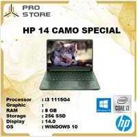 HP 14 CAMO SPECIAL i3 1115G4 8GB 256ssd W10 14.0 - LAPTOP