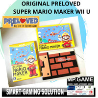 Original Preloved - Cd/Kaset Wii U Super Mario Maker Anniversary JPN