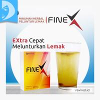 Fine X Minuman Herbal Peluntur Lemak Fiber Serat Diet Detox FineX