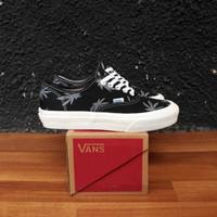 Sepatu Vans Authentic Falm Motif Black Unisex ORI Premium Import