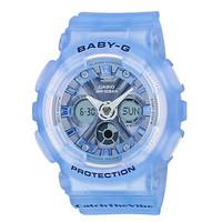 Jam Tangan Wanita Casio Baby-G Digital Analog Blue Strap BA-130CV-2ADR