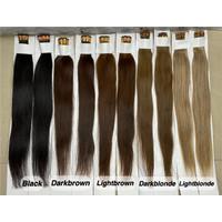 Extension ring human hair panjang 60 cm isi 100 helai