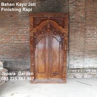 Kusen Pintu Kamar Rumah Gebyok Kayu Jati Ukir