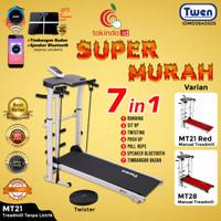 Treadmill Manual Multifungsi 5 in 1 Twen MT21 /Alat Fitness / Treadmil