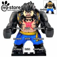lego one piece luffy gear 4 fourth gear snake man big figure