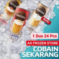 Nescafe Kaleng 220ml Caramel Macchiato / Latte / Cappucino / Can 220ml