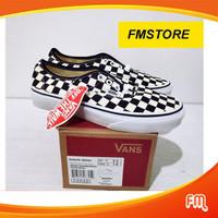 Vans Authentic Mix Checker Global Market / Sepatu Skateboard