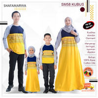 Baju Couple Keluarga Kaos Sarimbit Family Set Shafamarwa 58 Kubus
