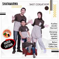 Sarimbit Shafamarwa 27 - Cokpi   Kaos Couple   Baju Keluarga