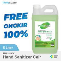 Handsanitizer 5 Liter Cair [Izin KEMENKES] PURELIZER Refill Spray 5L