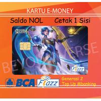Kartu FLAZZ BCA Gen 2 - Skin Lunox Zodiac / Ash Blossom Mobile Legends