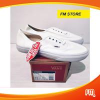Sepatu Vans Authentic Triple White Global Market / Sepatu Skateboard