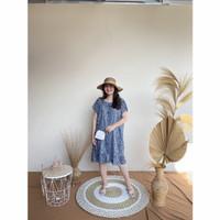 Daster Viral Ruffle Rayon   Baju Tidur Kekinian   Fashion Wanita Part3 - 3a, all size