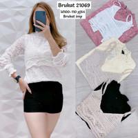 Baju Atasan Wanita Import Brukat - 21069