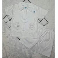 Baju Anak Bayi Laki-Laki Jas Putih Pesta/Kondangan/Baptis