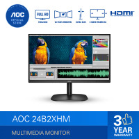 "AOC 24B2XHM Ultra Slim LED Monitor (23.8""/VA/6ms/75Hz/FHD)"