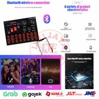 Soundcard Live Broadcast Microphone Headset - N9 Plus-Bluetooth Audio