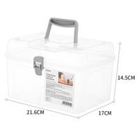 MINISO Kotak Penyimpanan Dengan Tutup Kotak Penyimpanan Kapasitas Besa