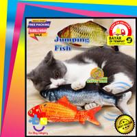 Mainan Ikan Goyang bukan Tiktok Boneka Bantal Ikan Simulasi Loncat