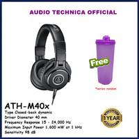 Audio-Technica ATH-M40x Professional Studio Monitor Headphone ATHM40X