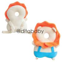 Bantal Pelindung Kepala Bayi / Bantal Anti Jatuh bayi/ tas ransel bela - Lion