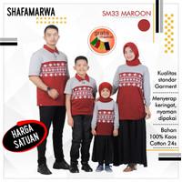 Sarimbit Shafamarwa 33 - Merti   Kaos Couple   Baju Keluarga