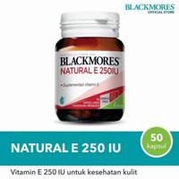 Balckmores Natural E 250 IU 50 kapsul