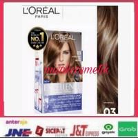 hair color loreal paris excellent ( 03 ultra light ash brown )