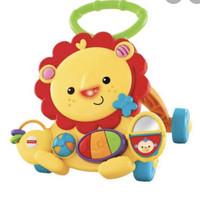 baby walker lion fisher price mainan belajar jalan preloved bekas