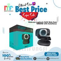 Webcam Logitech C615 Web Cam C-615 1080HD with Autofocus Garansi Resmi