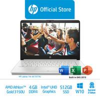 HP 14s-dk1507AU & 14s-dk1510AU Laptop/AMDAthlonGold 3150U/4GB/512GBSSD
