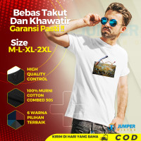 Baju Kaos Pria Distro Premium T Shirt Cowok Dewasa Keren Terbaru