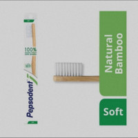 PROMO Pepsodent Natural Bamboo Soft Sikat Gigi