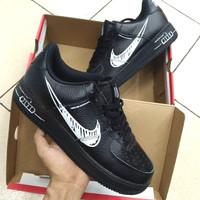 Sepatu Nike Air Force 1 Low Sketch Black