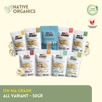 OH MA GRAIN - Rice Cracker / Snack Beras Camilan Diet Sehat