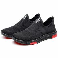Sepatu Sneakers Slip On Pria/Wanita Terbaru DNKE Simple Tanpa Tali COD