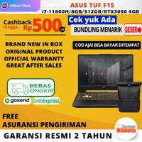 ASUS TUF F15 FX506HC-I735B6G-O i7-11800H RTX3050 8GB 512GB 144Hz W10 - NON Bundle