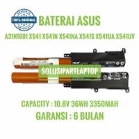 ORGINAL BATERAI ASUS A31N1601 X541 X541U F541 R541