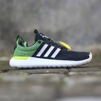 Sepatu adidas cloudfoam lite racer black stabilo original BNWB