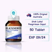 Blackmores Multivitamin for Men 50 Tablet Vitamin Pria