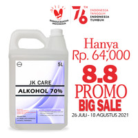 ALKOHOL 70% 5 Liter JK Care - Antiseptic