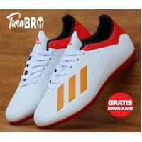 Sepatu Futsal Adidas Adizero x18 olahraga - Putih, 40