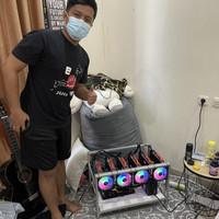 PAKET HEMAT RIG MINING 6 GPU GTX 1660 SUPER