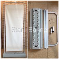 Standing Water Tank Door Frame Banner 60x160 (bisa di isi air / pasir)